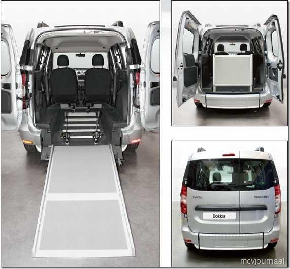 Dacia Dokker als rolstoelvervoer 04
