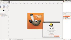 GIMP 2.9.1 in Ubuntu Linux