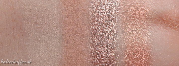 NYX Hot Single Eyeshadows Vixen Sin Stiletto Sex Kitten swatches