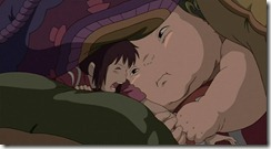 Spirited Away Baby Threatens