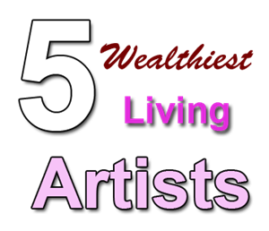 wealthiest living artists