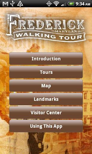 Frederick Walking Tour