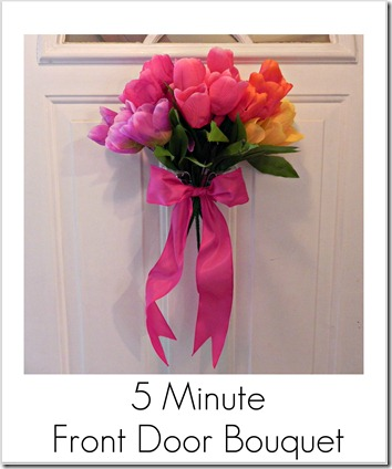 front door bouquet