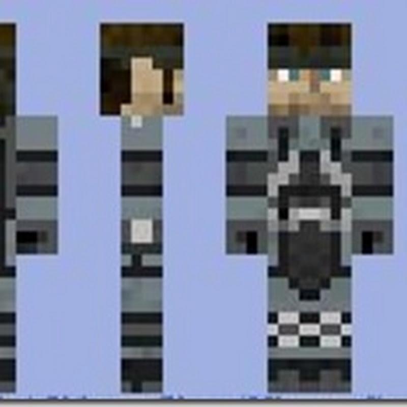 Minecraft 1.2.5 Solid Snake Skins