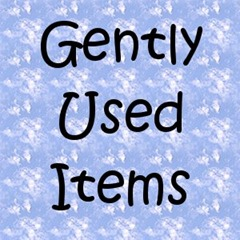Gently used Button