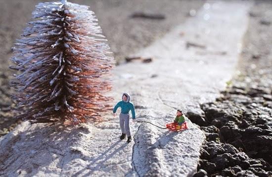 Cenário Miniatura de Slinkachu 13
