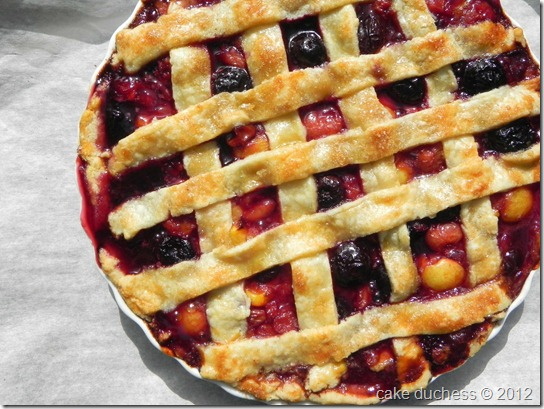 Sweet Cherry Pie - Savoring Italy