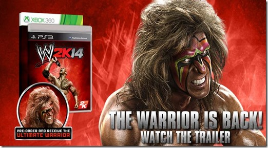 Ultimate Warrior 2K14 reveal