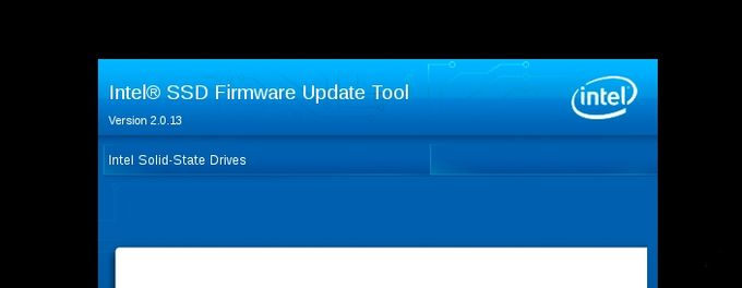 Intel SATA Solid-State Drive Firmware Update Tool