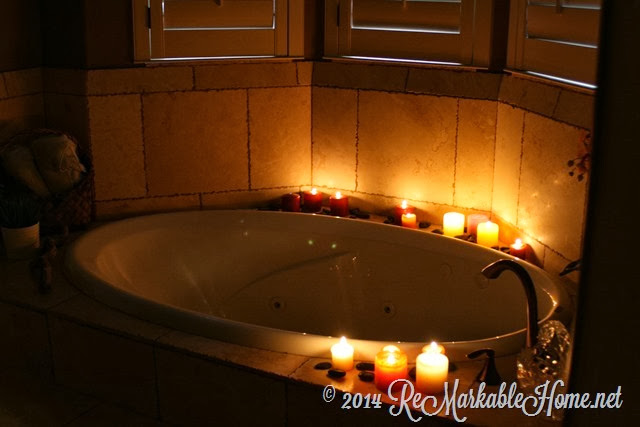 At Home Spa Night Date from ReMarkable Home
