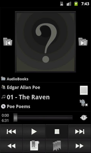 mortplayer-audio-books for android screenshot