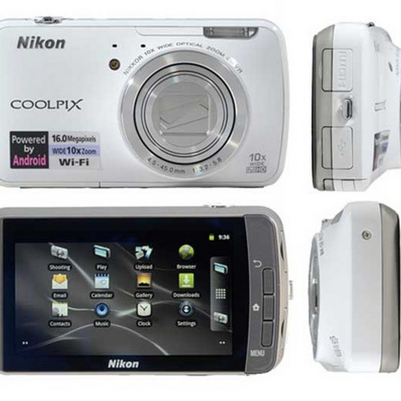 Nikon Coolpix S800c Kamera Digital Android