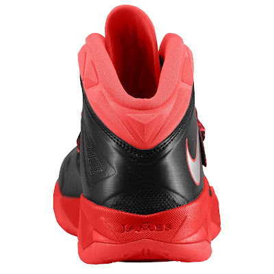 nike zoom soldier 7 gr black red 1 02 eastbay LEBRONs Nike Zoom Soldier VII $135 Pack Available at Eastbay