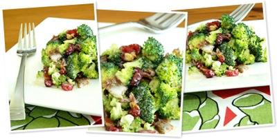 View broccoli salad