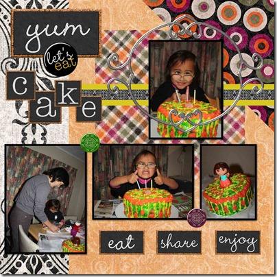 Mokai cake