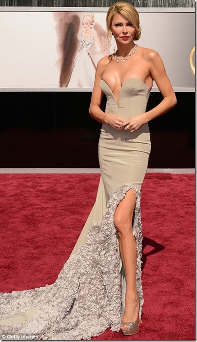 2013 Oscar's Best Beauty Hits... And Some Misses~Brandi Glanville