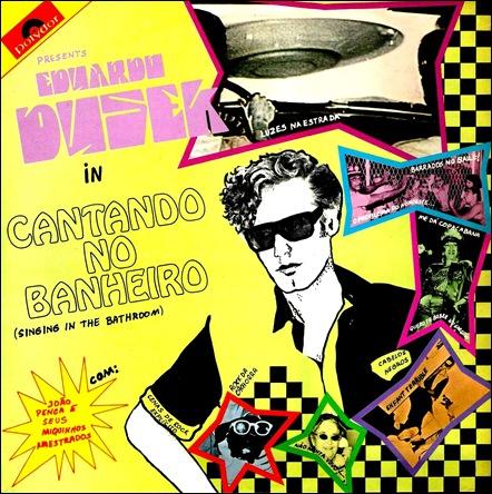 Eduardo Dusek (1982) Cantando no Banheiro - Front