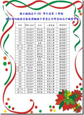 101上海報