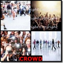 CROWD- 4 Pics 1 Word Answers 3 Letters