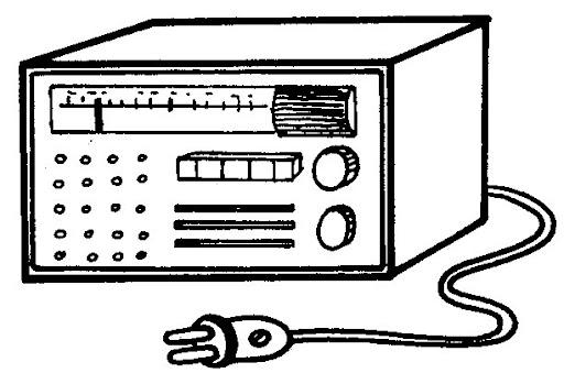 DIBUJOS DE RADIOS PARA COLOREAR   FICHAS PARA PINTAR   DIBUJOS ...