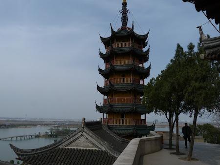 Obiective turistice Zhenjiang: Pagoda Jinshan