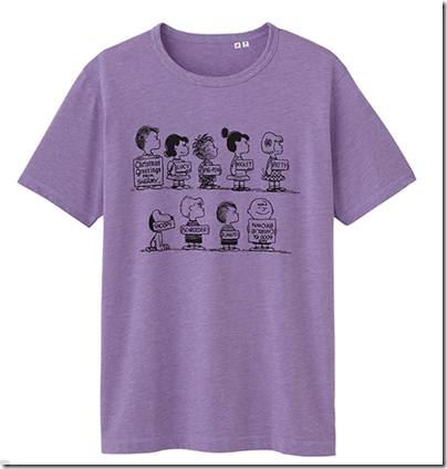 Uniqlo X Snoopy Tee - Man 26