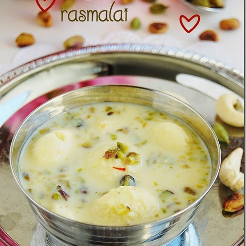 Rasmalai - Valentines day special