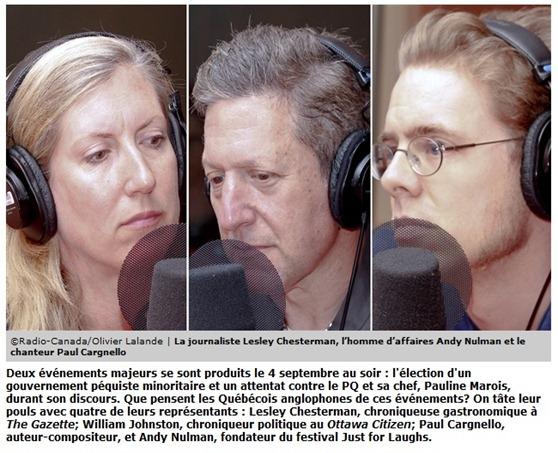 convidats de radio Canadà