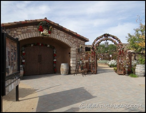 Europa_Village_winery_entrance