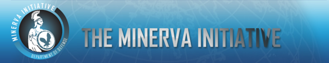 Logo for the U.S. Department of Defense's Minerva Research Initiative. Graphic: minerva.dtic.mil
