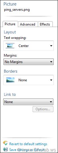 images properties