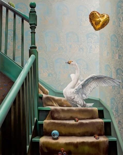 Ana Elisa egreja-Escada-2011-óleo-sobre-tela-160x130cm-580x716