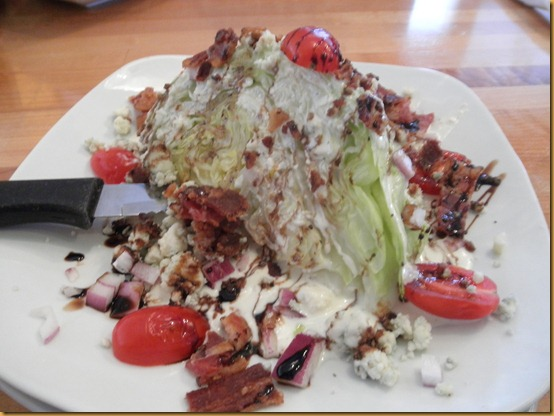Wedge Salad at Superfly