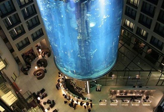 Cylindrical Aquarium 03