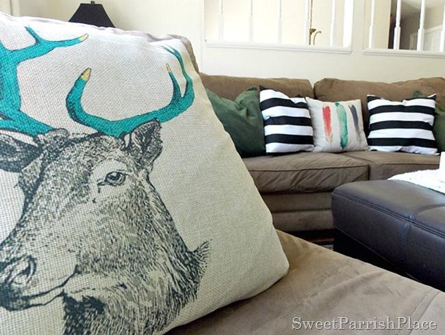 Deer Pillow2