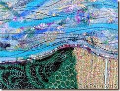Sue Reno, Spring Thaw, detail 1