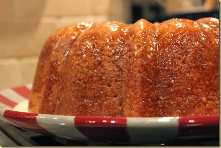 Buttered Rum Pound Cake