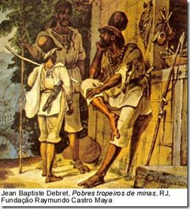 Tropeiros de Minas no século XVIII