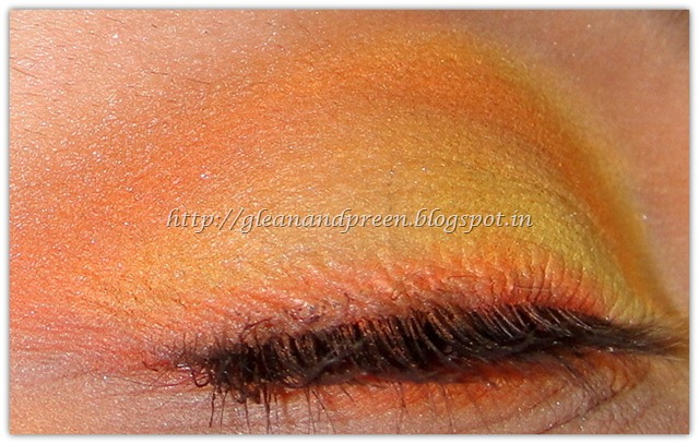 Sunrise Eye Makeup