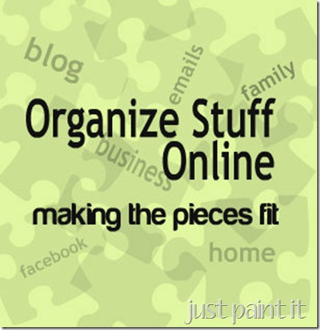 Organize Stuff Online – New Series
