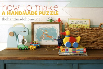 Handmade Puzzle - The Handmade Home