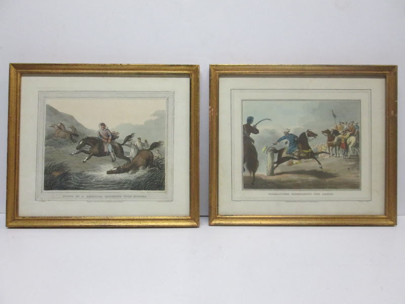 Pair of Lithographs