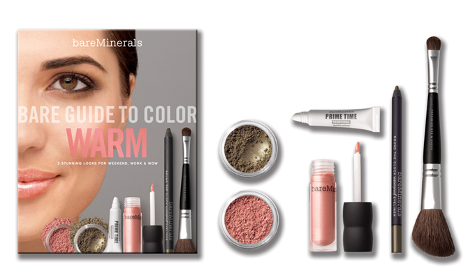 bareMinerals Guide to Color Warm