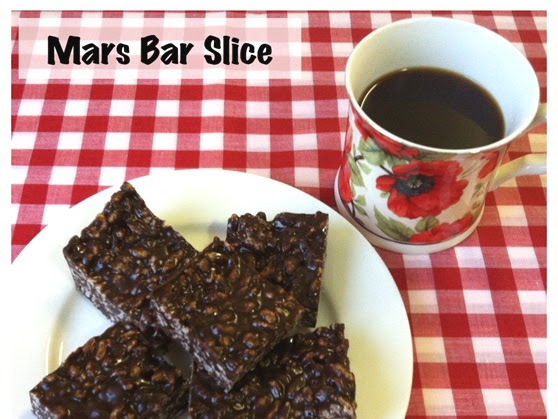 {Recipe} Dark Mars Bar Slice