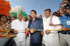 During the Inauguration of Hosur Elevated Highway
