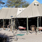 Meno a Kwena Tented Camp, Hauptbereich © Foto; Ulrike Pârvu | Outback Africa Erlebnisreisen