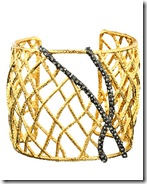 Alexis Bittar Pave Accent Cuff