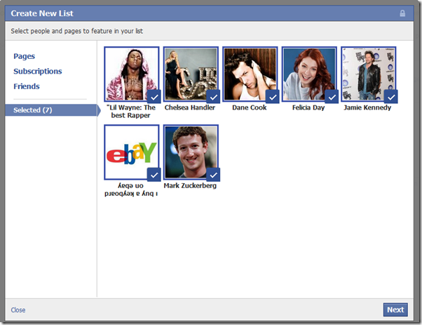 Facebook Introduces Interest Lists[News][How-to?]