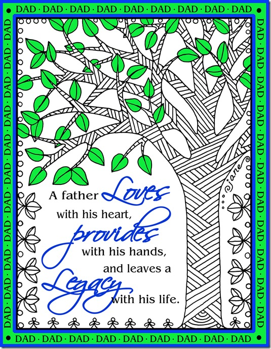 doodle tree with verse
