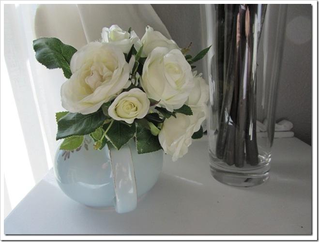 Ramo de flores blancas para niñas de arras